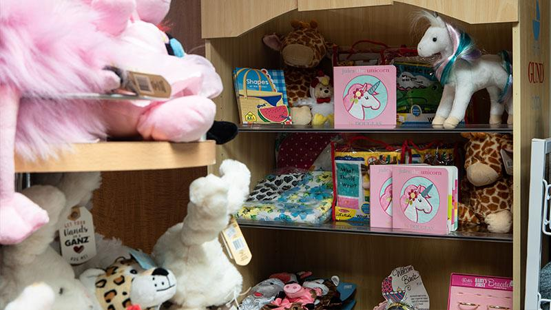 stuffed animals and baby gifts